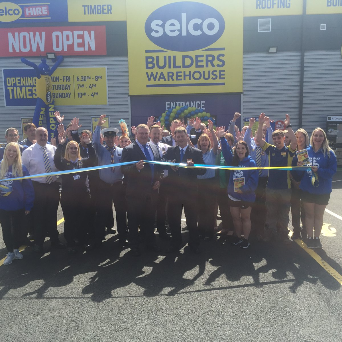 Selco Builders Merchant Opening July 2017