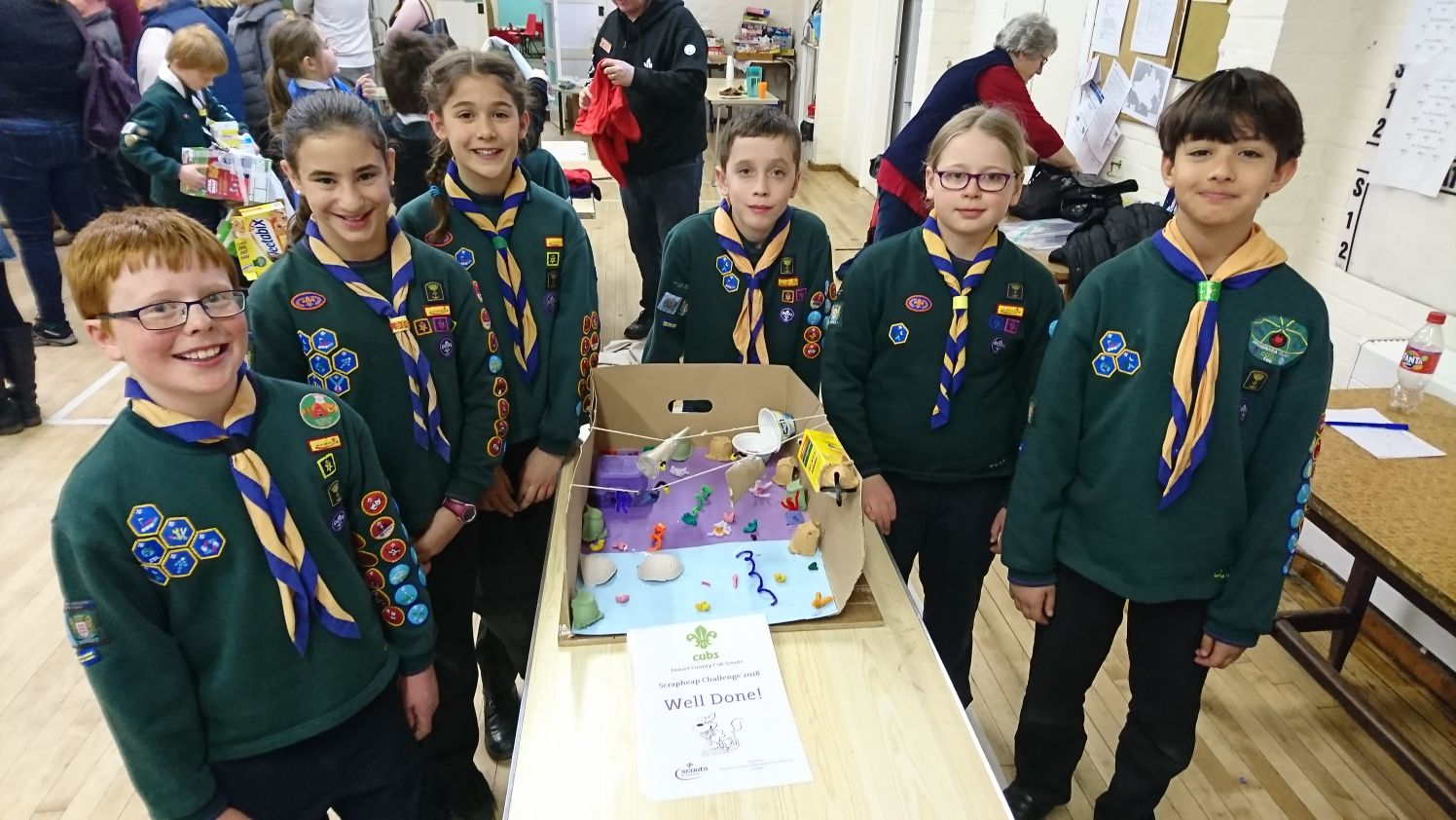 3rd Poole Cubs at Dorset Scout Scrapheap Challenge Competition